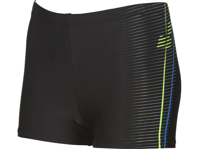 arena Roy Short Garçon, black-shiny green